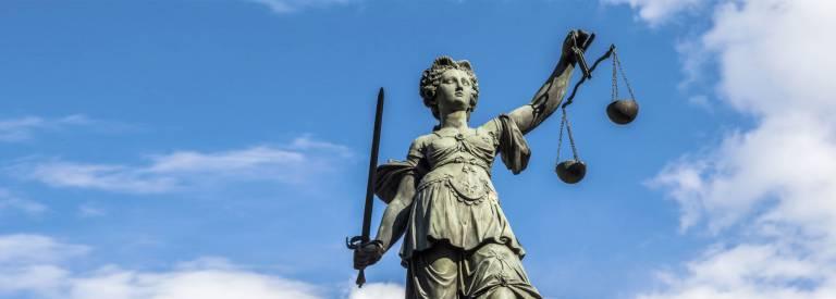 Vrouwe justitia